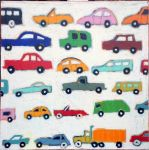 Matchbox cars (Peintures de Gordon HOPKINS Gordon HOPKINS, peintre paysagiste)