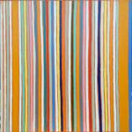 Line pattern orange (Peintures de Gordon HOPKINS Gordon HOPKINS)