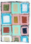 Untitle (colors square) (Peintures de Gordon HOPKINS Gordon HOPKINS, peintre paysagiste)